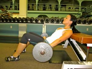 Fat Burning Diet - Hip Thrust start