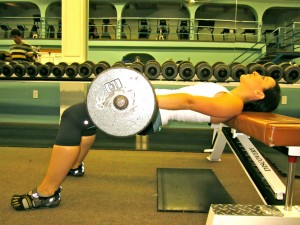 Fat Burning Diet - Hip Thrust finish