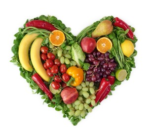 Top Fat Burning Foods - Heart of Fruits and Vegetables