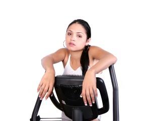 Fat Burning Diet - treadmill tired