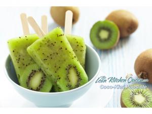 Coco Kiwi Popsicle