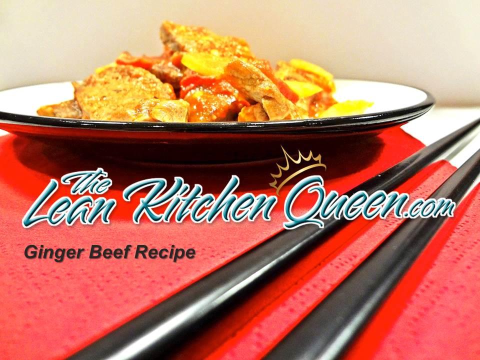 Metabolic Ginger Beef Recipe