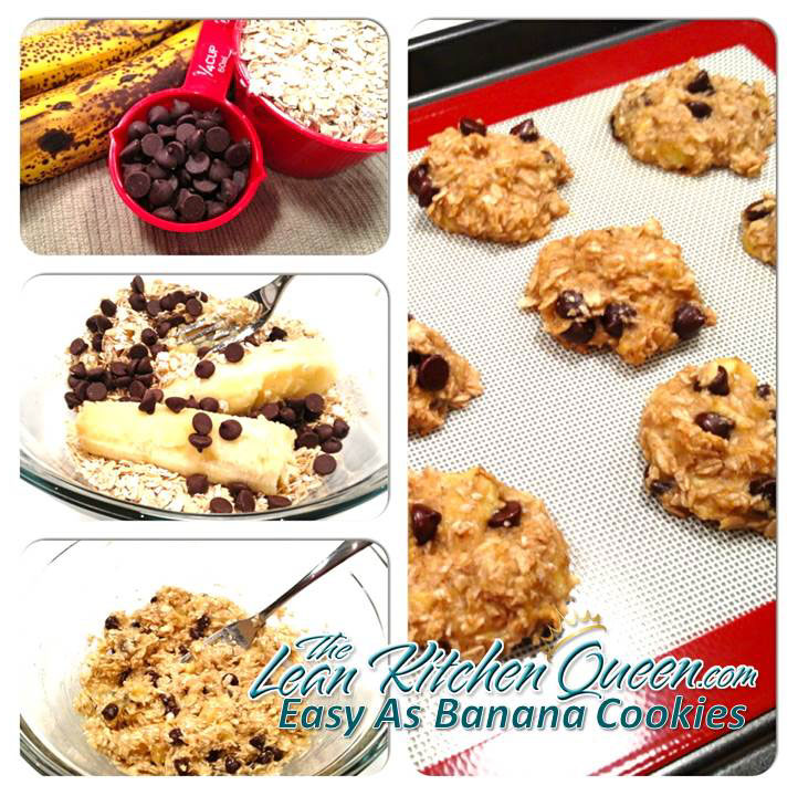 Easy As Banana Cookies