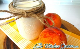Creamy Peach Smoothie