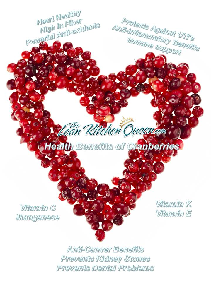 Why Cranberries are so healthy for you