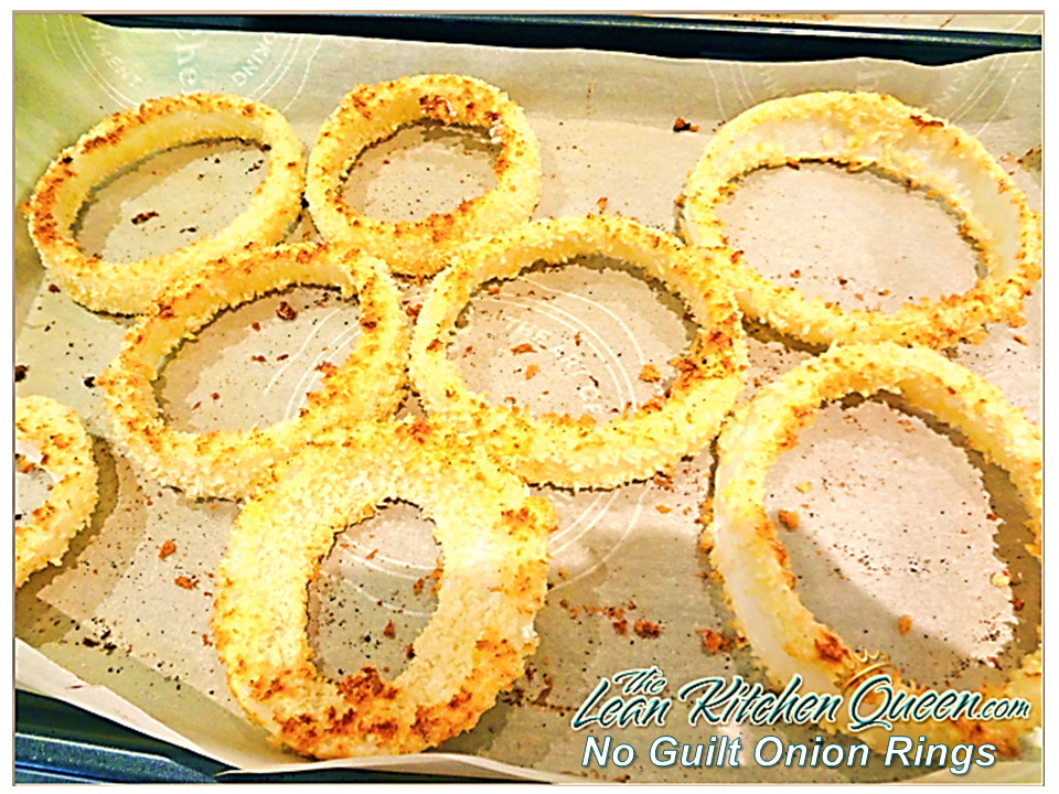 No Guilt Onion Rings