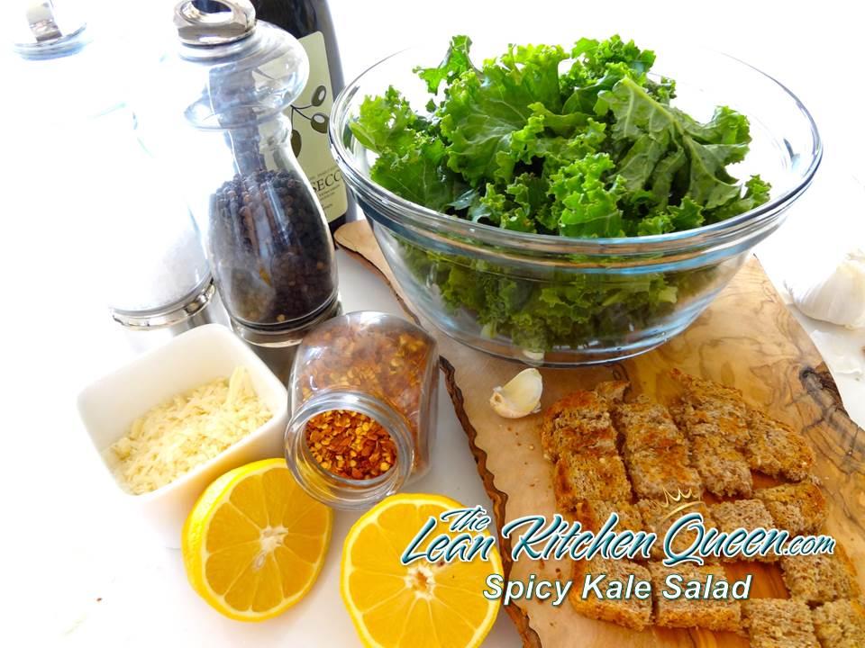 Spice Kale Salad 1