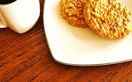 Peanut Butter Protein Cookies Feature
