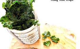 salty kale chips